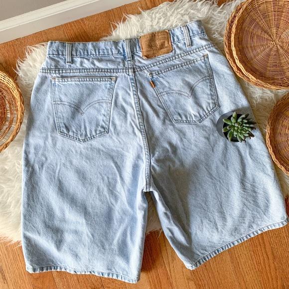 Vintage Levi's Orange Tab 560 Loose Fit Shorts